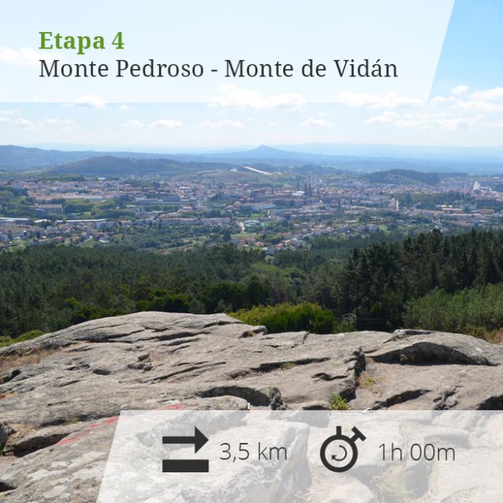 etapa 4 monte Pedroso-monte Vidán