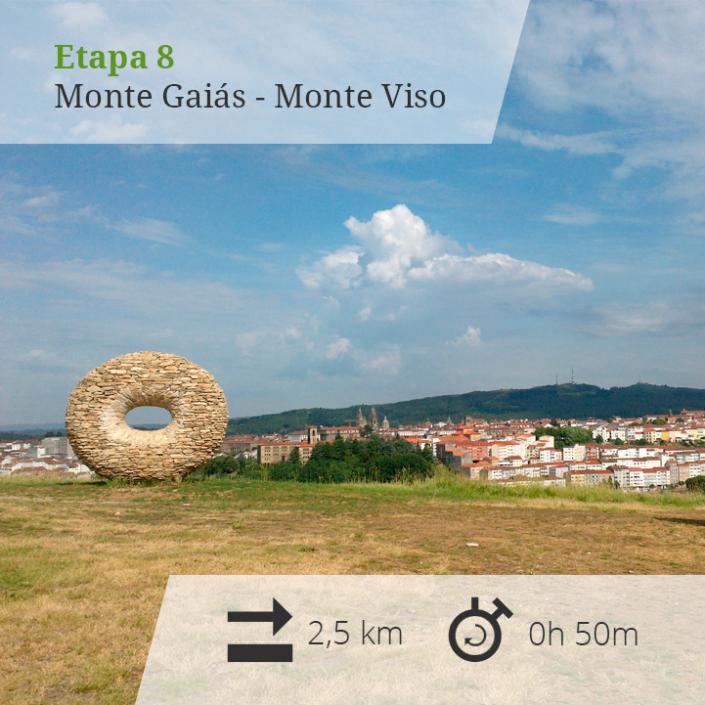Etapa 8 Monte Gaiás - Monte Viso