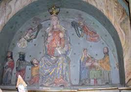 Detalle del altar de la Iglesia Nuestra Señora de Belén.