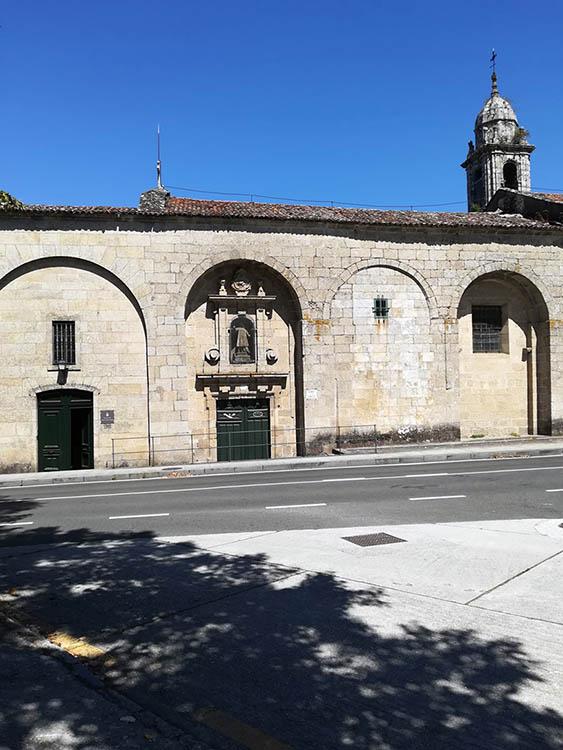 Fachada do pazo de San Lourenzo de Trasouto