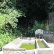 Fuente y lavadero de Lobio