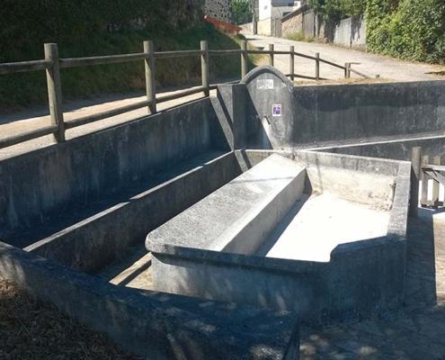 Fuente y lavadero de Sanxuás de Arriba