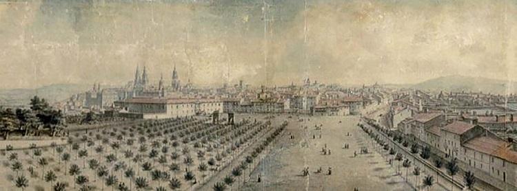 La Alameda en 1837