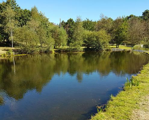 Lagoa na Granxa do Xesto