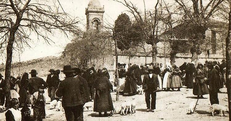 La carballeira en 1905