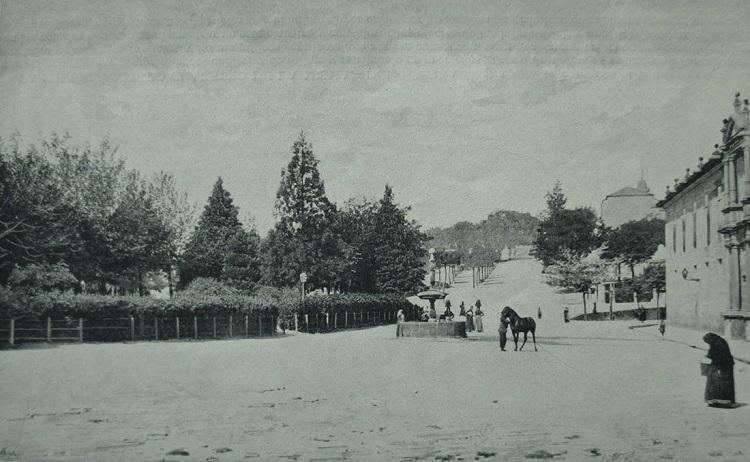 Aguadoras en la fuente del Campo de la Estrella, 1890