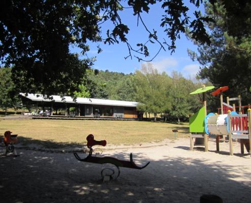 Cafetería parque infantil