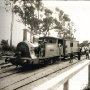 Estación de Cornes 1909