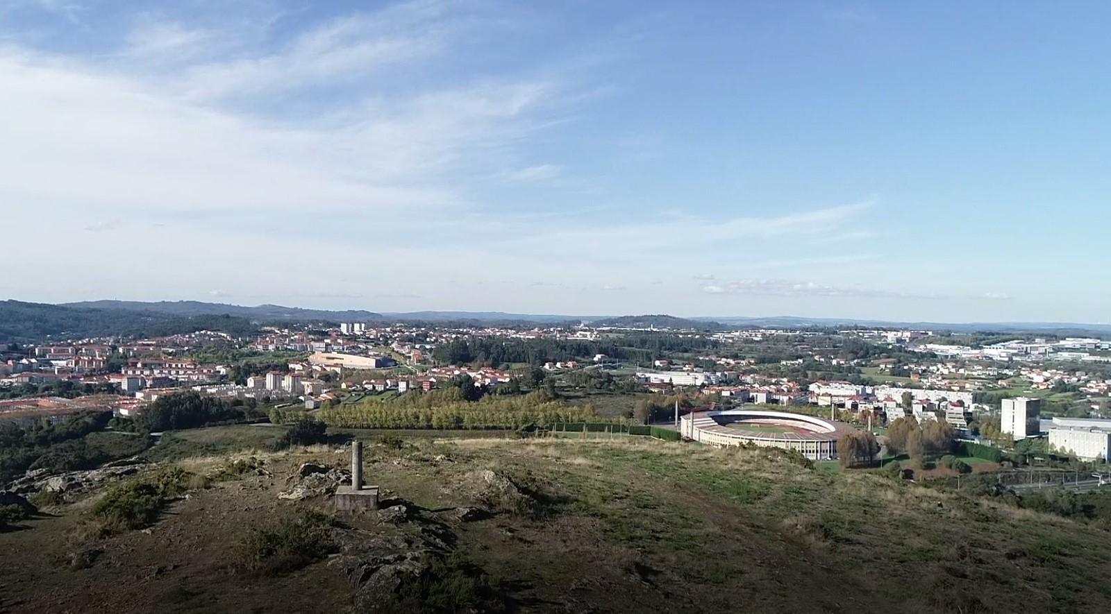 Monte do Viso, a vista de paxaro